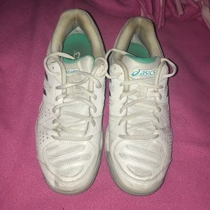 ASICS woman's tennis or volleyball sneakers